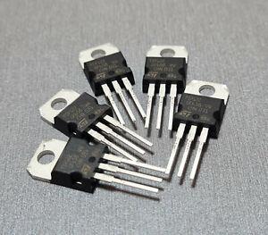 2/5PCS TIP122 Bipolar (BJT) Transistor NPN - Darlington 100V 5A 2W TO-220-3