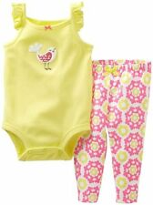 Carter's 2-piece Bodysuit & Pull-On Pants Set (GBC-JP658) - Bird, Size: 9 months