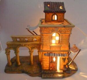 Grandeur Noel Bethlehem Village House Archways 2001 Replacement