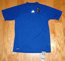 Adidas Elite Tee 2 Climalite Athletic Shirt Top NWT Size M Royal Blue Men's