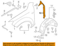 AUDI OEM 07-15 Q7 Fender-Filler Panel Left 4L0821111