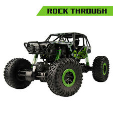 2.4G Rock Crawler 1/10 Scale RC Car Off Road Electric RTR Climbing Truck Green