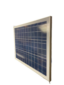 ECO-WORTHY AM-P10X-CB-1 10W 12V Polycrystalline Solar Panel 27x21in