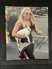 Lizzy Musi Signed 8 X 10 Photo Pro-Nitrous Drag Racing Gorgeous Street Outlaws