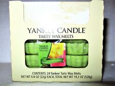"Box Lot of 24 Yankee Candle Home Classics ""TROPICAL PINEAPPLE"" Tarts Wax Melts"