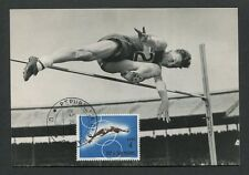 SAN MARINO MK 1964 OLYMPIA OLYMPICS MAXIMUMKARTE CARTE MAXIMUM CARD MC CM d8505