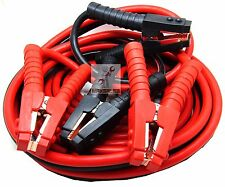 Heavy Duty Industrial Jumper Booster Cables 1000 Amp 1 Gauge 25 Feet Super Duty