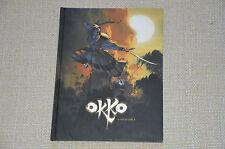 bd OKKO le cycle de l'eau n°2 - édition spéciale grand format NB - EO
