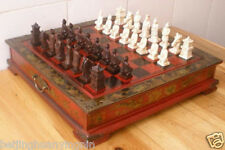 Collectibles Vintage 32 Pieces chess set with wooden