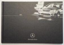 MERCEDES BENZ AMG orig 2002 UK Mkt Hardback Brochure - G55 SL55 SLK32 CL55 C30