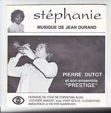 Pierre DUTOT Trompette PRESTIGE Vinyl 45T STEPHANIE Film DERNIER AMOUR Dédicace
