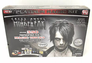 Criss Angel Mindfreak Platinum Magic Kit 350+ Magic Tricks Factory Sealed