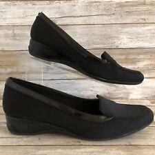 db576cfb54e Bandolino B-Flexible Moc Toe Slip On Loafer 10M Lilas Black Dress Casual  Womens
