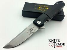 JR & Sons Agreya Pocket Knife JRS0001 D2 Blade G10 Handle Flipper Deployment EDC