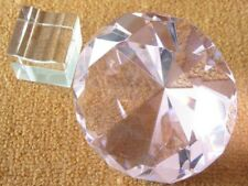 1X NEW Pink Taper Crystal Ball 100mm