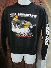 Rare Vintage Ski-doo snowmobile Graphic Sweatshirt Black Adult Medium