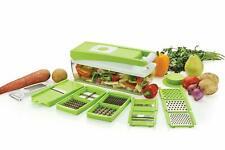 Multipurpose Vegetable Fruit Chopper Cutter Grater Slicer Nicer Dicer 14 in 1