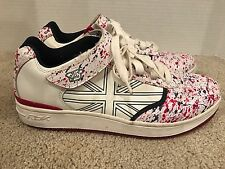 REEBOK DERRTY ONE NELLY Red White Blue MENS SHOES US SIZE 11 RARE 10-160252 LB17