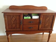 Buffet table cabinet storage wood dining room furniture