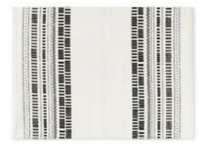 New listing Project 62 Black Cream Woven Placemats Set Of 4 New Modern Farmhouse