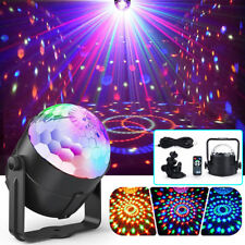 LED Magic Ball Stage Light Club RGB Rotating Disco Party DJ Decor Remote