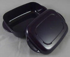 Tupperware I 16 Micro Plus MicroWave 200 Kasserolle 500 ml rechteckig Lila Neu