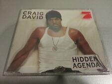 CRAIG DAVID - Hidden Agenda  (Maxi-CD)