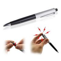 Kugelschreiber NEU Stromschlag Scherzartikel Elektro pen shocking ne Schock L0Z1