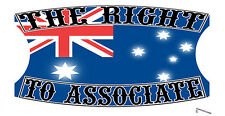 THE RIGHT TO ASSOCIATE STICKER BIKER OMC BIKE STICKER MOTORCYCLE STICKER 4C