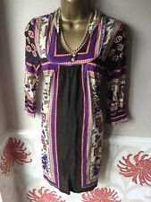 Lovely New Vero Moda Brown Short Dress Tunic Top Size Extra Small Fits 6/8 BNWT