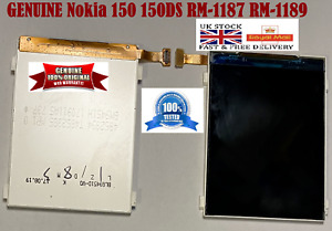 100% GENUINE Nokia 150 150DS RM-1187 RM-1189 OEM Replacement Lcd Screen Display