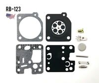 RB-123 Carburetor Rebuild Kit for Echo, Homelite, Chainsaws, Zama, Small engines