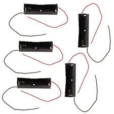 5PCS Caja de la batería Soporte para 18650 Li-ion 3.7V pilas conveniente