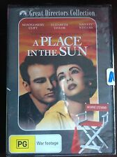 A PLACE IN THE SUN Elizabeth Taylor Montgomery Clift NEW & SEALED B&W DVD R4