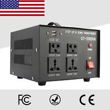 Voltage Converter Transformer Step Up Down 110v-220v/220v-110v 2000W