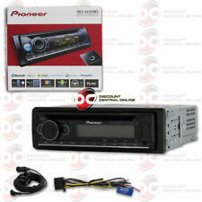 PIONEER DEH-S6200BS SINGLE DIN CD USB CAR STEREO WITH BLUETOOTH & SIRIUSXM READY