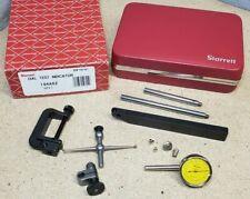 Starrett No. 196M dial indicator set *MINT* - .02 mm