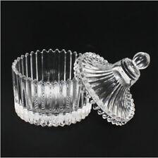 Vintage glass Jar & Cup with glass lid   80ml   2.67 fl oz