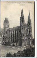 Rouen France Frankreich CPA 1910/20 l'église Saint Quen Partie an der Kirche