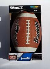 junior football Franklin sports grip- rite 100 rubber football junior orange