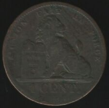 More details for 1859 belgium one cent coin without dash   european coins   pennies2pounds