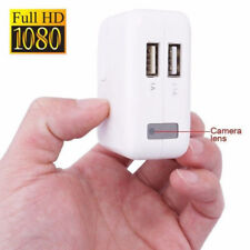 HD 1080P USB Wall EU Charger Hidden Spy Camera DVR Recorder Motion Detection