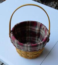 Longaberger Small Fruit Basket & Orchard Park Liner