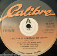 "REAL THING - I Believe In Love ~ 12"" Single"