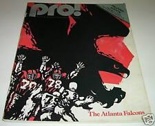 1979 WASHINGTON REDSKINS vs ATLANTA FALCONS NFL PROGRAM Joe Theismann