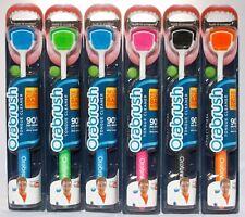 Orabrush Tongue Cleaner Scraper Brush Dentek Distressed AND/OR Unsealed 6 Count