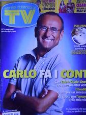 TV Sorrisi e Canzoni n°21 2012 Speciale Lucio Dalla - Ilaria D'Amico Kidman[D18]