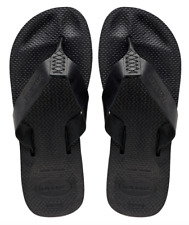Havaianas Men`s Brazilian Flip Flops Urban Special Sandals Black All Sizes NWT