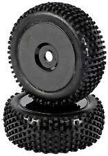Carson 1:8 Reifen-/Felgenset Dish, schwarz 2St. - 405288