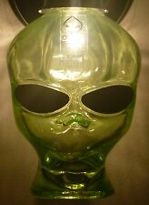 SETI UFO OUTER SPACE VODKA ALIEN BOTTLE EMPTY WALL SCONCE LIGHT FIXTURE 120V